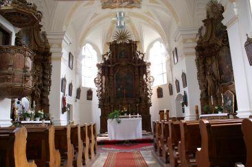 St. Martin, Neukirchen, Innenansicht (2/2)