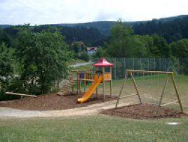 Spielplatz im Baugebiet Sparr